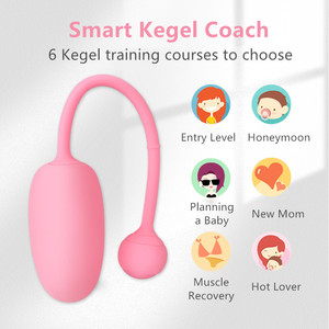 Image 5 - קסם תנועה קיגל מאסטר כדור Bluetooth ויברטור APP שלט חכם בן Wa כדור נרתיק להדק אימון מין צעצוע עבור אישה