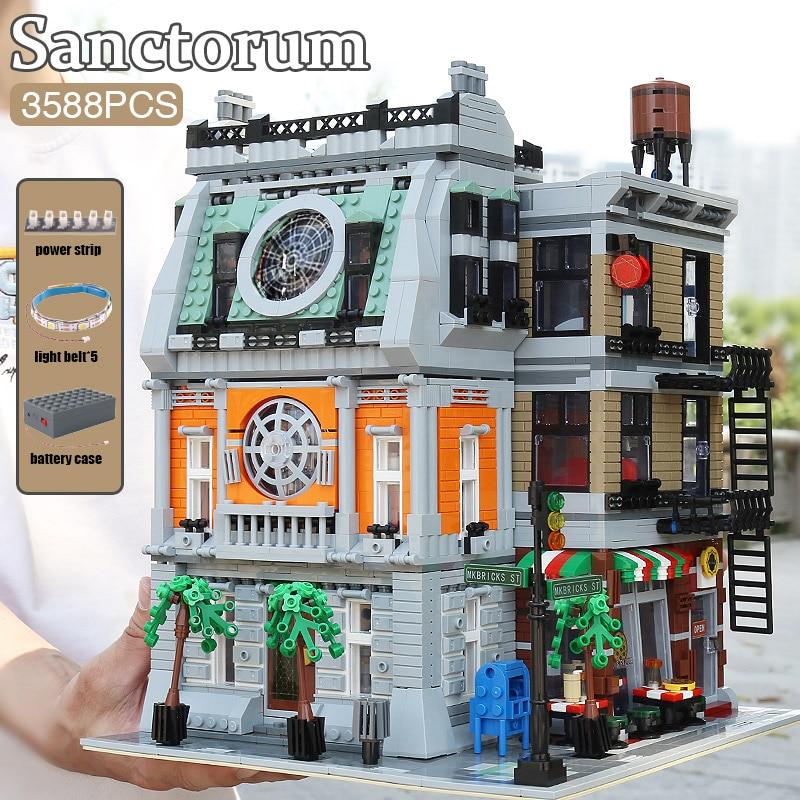 MOULD KING 16037 The MOC-37592 Sanctorum With Led Parts