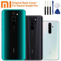 Xiao Mi Xiaomi Mi Original Glass Battery Rear Case For Xiaomi Redmi Note8 Pro Note 8 Pro Battery Back Cover Backshell +Tool