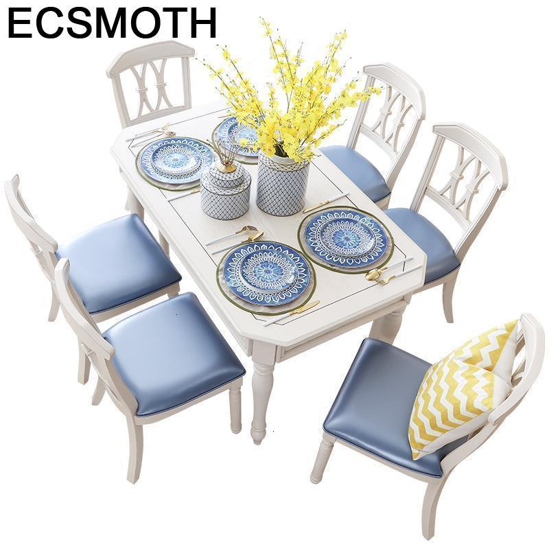 Marmol A Manger Moderne Dinning Set Meja Makan Comedores Mueble Juego De Esstisch Wooden Tablo Comedor Mesa Desk Dining Table