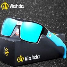Viahda Sunglasses Women Men Brand Design Frame Sun Glasses For Fashion Classic UV400 Square Eyewear