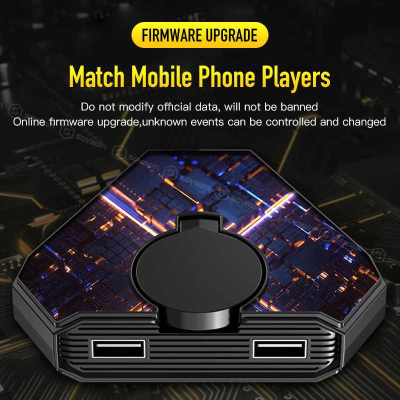 コールのデューpubgコントローラbluetoothゲームパッドandroidゲームキーボードマウス変換セットにiphone pcアダプタ