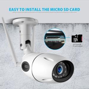 Image 5 - HD 1080P 5MP IP Camera WIFI Wireless ONVIF CCTV Bullet Network Camera Outdoor Two Way Audio Micro SD Card Slot Max 64G P2P iCsee