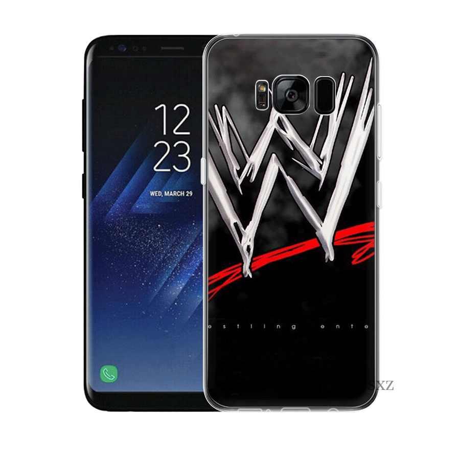 حقيبة هاتف محمول لسامسونج A3 A5 A6 A7 A8 A9 A10 A20 A30 A40 A50 A60 الصلب غطاء رمز من المصارعة