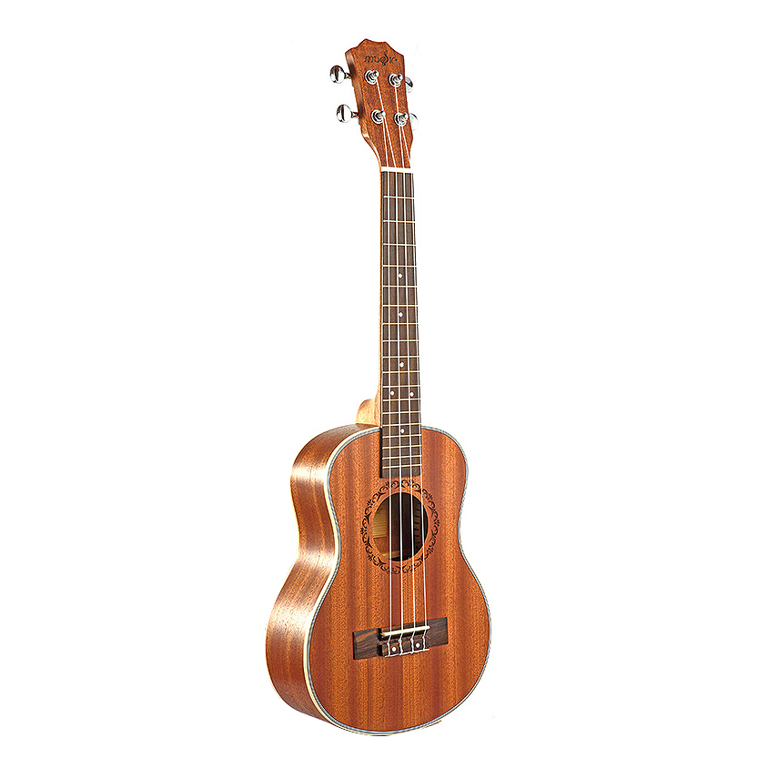 Tenor Acoustic Electric Ukulele 26 Inch Guitar 4 Strings Ukulele Handcrafted Wood Guitarist Mahogany image