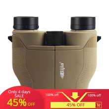 цена на BIJIA 8x25 Telescope Binocular Zoom Professional Waterproof  Portable Binoculars Telescope Jumelles For Hunting Camping Sports