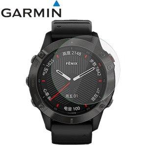 Image 1 - 2 Pcs Smart Wristband Screen protector Guard Cover Shield Film for Garmin Fenix 6 Pro HD anti scratch electrostatic PET film