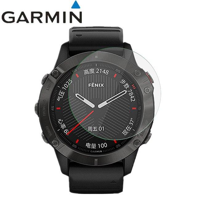 2 Pcs Smart Wristband Screen protector Guard Cover Shield Film for Garmin Fenix 6 Pro HD anti scratch electrostatic PET film