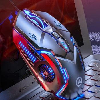 Silver Eagle Machinery mysz do gier kabel komputer stacjonarny Laptop uniwersalna cicha cicha mysz tanie i dobre opinie CN (pochodzenie) PRZEWODOWY Zasilana akumulatorem Prawo Others No Match Found