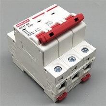 AC220V-400V DZ47-63 3P 6A 10A 16A 20A 25A 230V  400V 32A 40A 50A 63A Mini Circuit Breaker Cutout Miniature Household Air Switch dz47 63 c63 3p 3 pole ac 230 400v 6a 10a 16a 20a 25a 32a 40a 50a 63a overload protection circuit breaker