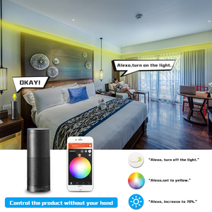 Image 3 - zigbee Zll smart home LED strip rgbww controller DC12V 24V zigbee zll phone control compatible with ECHO plus Smartthings hub