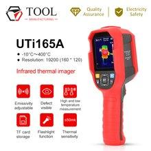 אינפרא אדום תרמית Imager UNI T UTi165A גבוהה דיוק תרמית הדמיה כף יד מדחום תעשייתי חשמל זיהוי