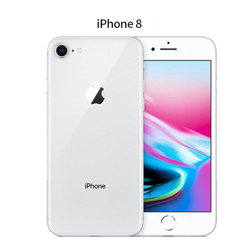 Used Original Apple iPhone 8 Hexa Core 2GB RAM 64GB/256GB ROM Fingerprint LTE Mobile Phone Smartphone