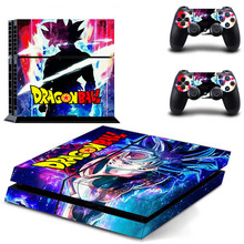 PS4 Skin Dragon Ball Play station 4 Stickers PS 4 Sticker Decal Pegatinas Adesivo For PlayStation 4 console and 2 controller