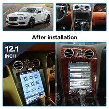 Android 8,1 pantalla Vertical estilo Tesla para Bentley Flying Spur para unidad frontal Continental Auto estéreo reproductor de Radio Multimedia