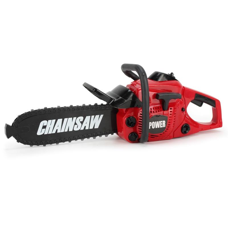 Children's Electric Pretend Play Tool Toys Garden Boys Toys  Herramientas Para Carpinteria Repair Tools Electric Drill Chainsaw
