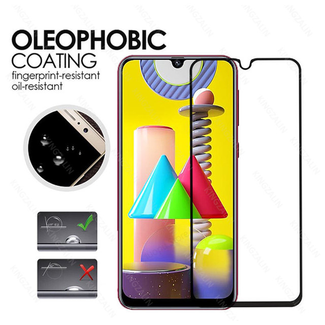 2 in 1 camera lens protective glass for samsung galaxy m31 m30 s m51 m21 m11 m12  screen tempered glass for samsung m30 m31 m21s 3