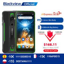 BLACKVIEW 2020 nowy BV6300 Pro Helio P70 6GB + 128GB Smartphone 4380mAh Android 10 0 telefon komórkowy NFC IP68 wodoodporny wytrzymały telefon tanie tanio Nie odpinany CN (pochodzenie) Rozpoznawania linii papilarnych Inne 16MP Nonsupport Smartfony Pojemnościowy ekran Angielski