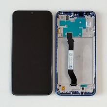 """6.3 """"オリジナルm & センxiaomi redmi注 8 液晶表示画面 + タッチスクリーンデジタイザアセンブリのためのフレームredmi注 8"""