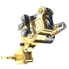 Reines Kupfer Neue Design Einstellbare Hub Tattoo Rotary RCA Maschine Leistungsstarke Kernlosen Motor Permanent Make Up Zubehör
