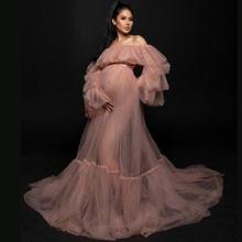Тюлевое платье для беременных фотосъемки вдохновляющее в стиле