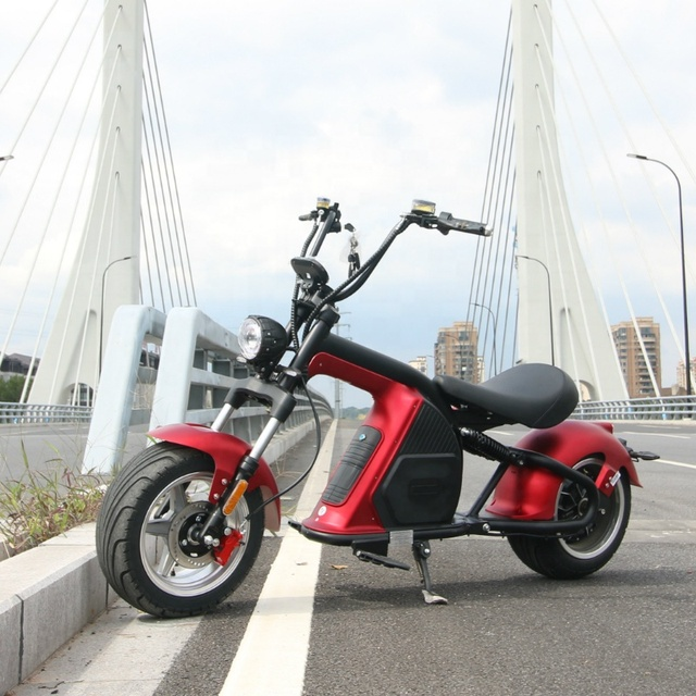 European Warehouse New Model Electric scooter 2000W fat Wheel Citycoco M8 Adult Motorcycle Chopper 5
