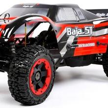 2,4 г светодиодный Экран 4-канальном пульте дистанционного управления Управление RoFUN бензиновое грузовое 2WD с 32CC двигатель Rc автомобиль для BAJA 5T