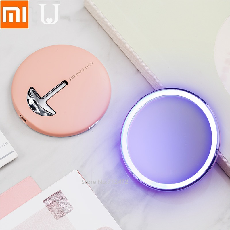 Xiaomi Mijia Makeup Mirror With LED Light Touch Dimmer Vanity Mirror Lamp Fill Lights Cosmetic Tool For Live Broadcast