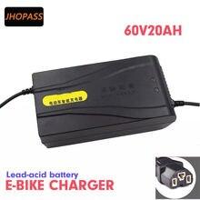 Chargeur de batterie au plomb 60 V 20 AH, sortie 69V 2,5 a, alimentation électrique 60 V 20 AH 12AH-14AH pour vélo électrique, Scooters