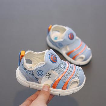 Babaya dziecięce letnie buty modne dziecięce sandały chłopięce dziecięce buty dziecięce miękkie dno 2020 letnie nowe dziewczęce dziecięce sandały tanie i dobre opinie CN (pochodzenie) Mieszkanie z Mesh (air mesh) Lato Pasuje prawda na wymiar weź swój normalny rozmiar Unisex 30058
