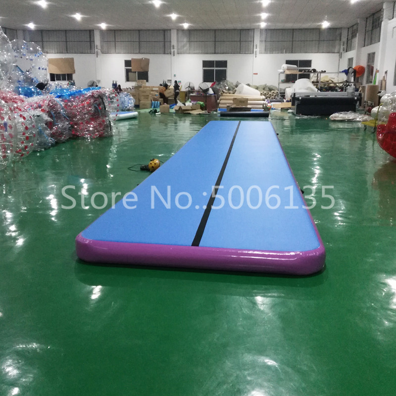 2020 10M Big Size Inflatable Gymnastics AirTrack Tumbling Air Track Floor Trampoline for Home Use/Training/Cheerleading/Beach