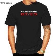 Новинка, дизайнерская футболка Mustang GT / CS Комплект нагнетателя, модель GT 2020 года, новинка, Мужская забавная уличная одежда, футболки