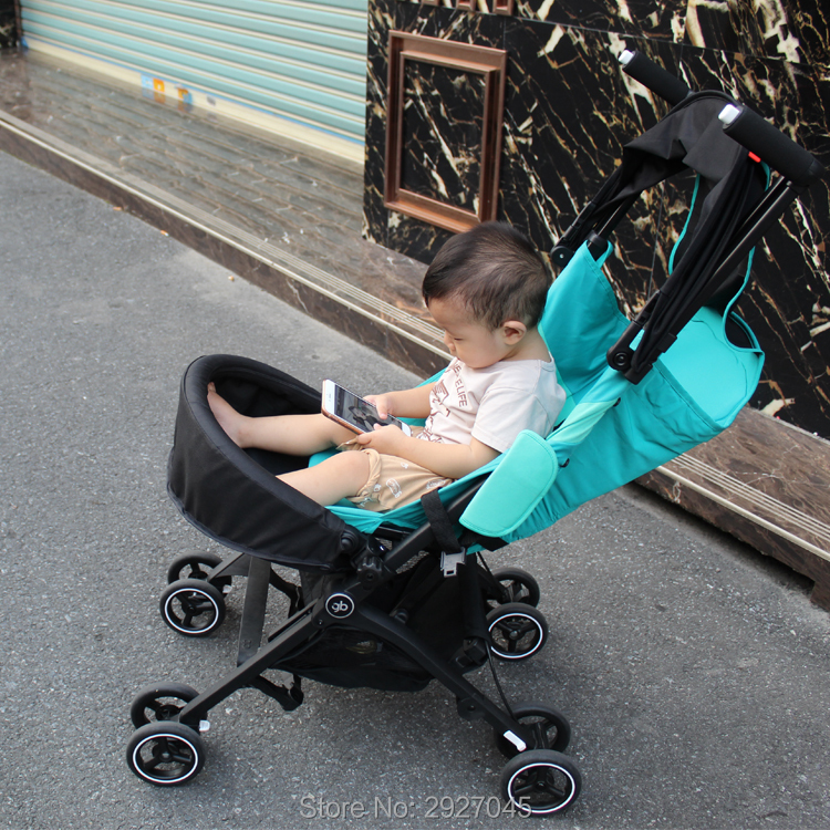 Image 4 - Baby stroller accessories extend footboard extension footrest footmuff for Goodbaby Pockit 2019/ Pockit plus/ Pockit+/ GB PockitStrollers Accessories   -