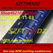 SZFTHRXDZ 100% 새 원본 2018 + (50 PCS 100 PCS) Si2328DS T1 E3 Si2328DS T1 Si2328DS D8K D8 *** SOT23