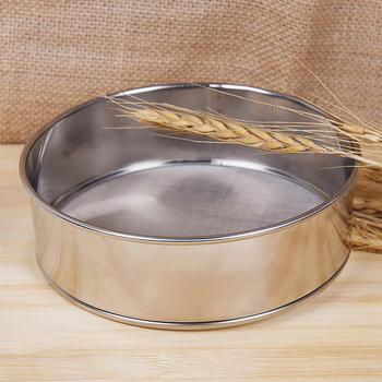 Sito do gotowania mąki herbata makaron sitko Tamis mąki siatki ryż ciasto naczynia siatka ze stali nierdzewnej akcesoria narzędzia kuchenne tanie i dobre opinie PlumHOME CN (pochodzenie) Ekologiczne Colanders i filtry STAINLESS STEEL CE UE tools pastry pasta tools Sieve for flour