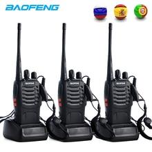 3PCS Baofeng BF 888S Two Way Radio BF-888S 6km Walkie Talkie 5W Portable CB Ham Handheld HF Transceiver Interphone bf888S