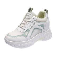 Бесплатная доставка женские кроссовки 2020 белые массивные для