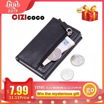 Έξυπνο card holder και μίνι πορτοφόλι με θήκη για κέρματα