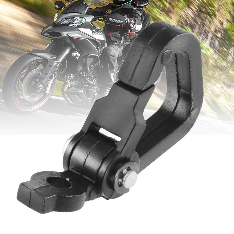 Motorcycle Spring Clip Snap Hook Luggage Helmet Bottle For Motorbike/Scooter/Dirt Bike/ATV/Quad Aluminum Alloy Moto Accessories