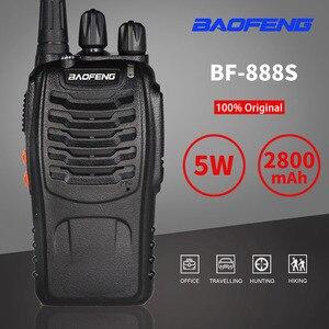Image 2 - 3pcs Baofeng 888S Walkie Talkie 6km CB Ham Radio bf 888s 5W Two Way Radio Car FM Transceiver bf888s Toy Interphone Comunicador