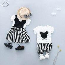 Brother рубашка+ штаны сестра, футболка+ юбка, летняя одежда для мальчика, комплект Семья подходящая друг к другу одежда брат одежда с надписью «Little сестра одежда