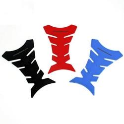 3D наклейки с дизайном «рыбы» Мотоциклетный Бак Накладка для защиты кости наклейка газ для Honda Kawasaki Yamaha Suzuki Ducati Bmw KTM топливо