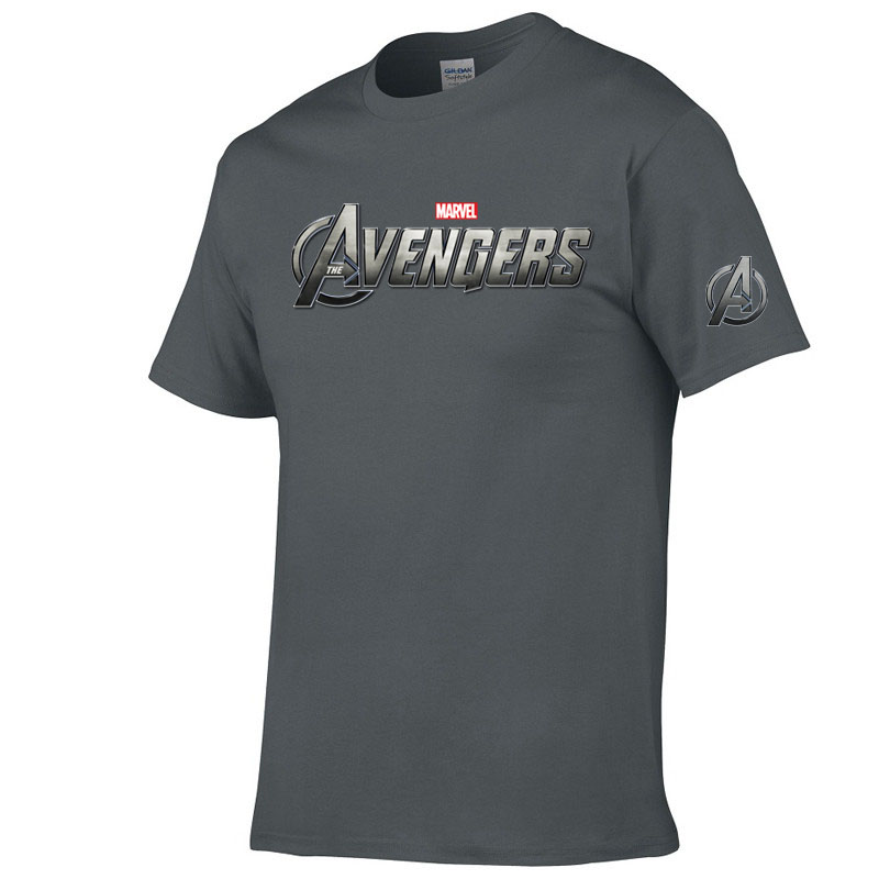 Marvel T Shirt Avengers Shirt Men Casual O-neck Short Sleeves T-shirt Fashion Print Cotton Tshirt Funny Top Tee Camisetas Hombre