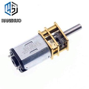 1 sztuk N20 mikro metalowy motoreduktor elektryczna skrzynia biegów 12V 120 obr/min/200 obr/min/400 obr/min DC 12V 200 obr/min 3MM średnica wału