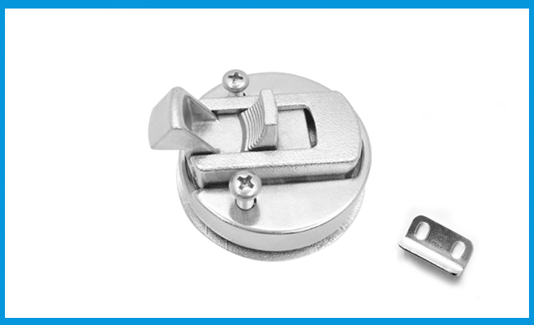 "2X Marine Boat Stainless Steel 2/"" Flush Pull Hatch Latch Marine Boat New Sturdy"