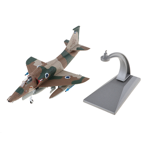 1:72 A-4 Skyhawk Fighter Model, Alloy Helicopter Gift for Plane Model Lover or Collector, Coffee Bar Home Display Decor