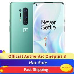 Global Rom Oneplus 8 5G NFC Mobile Phone 8GB 128GB Snapdragon 865 Smart Phone