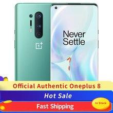 Global Versie Oneplus 8 5G Nfc Mobiele Telefoon 8Gb 128Gb Snapdragon 865 Smart Telefoon