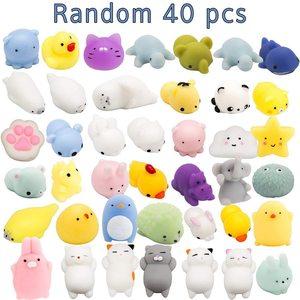 40 Pc Mochi Squishy Toys Mochi
