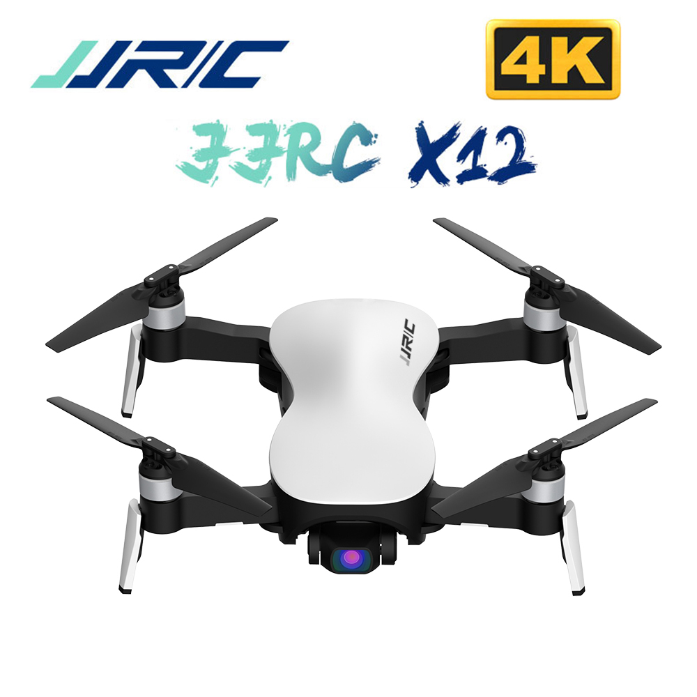 JJRC X12 Anti Shake 3 Axis Gimbal 4K Brushless Motor RC Drone WIFI 1KM FPV HD Camera Quadcopter VS X8 RC Helicopter Dron Toys